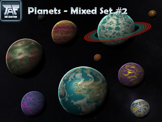 Planets - Mixed Set #2