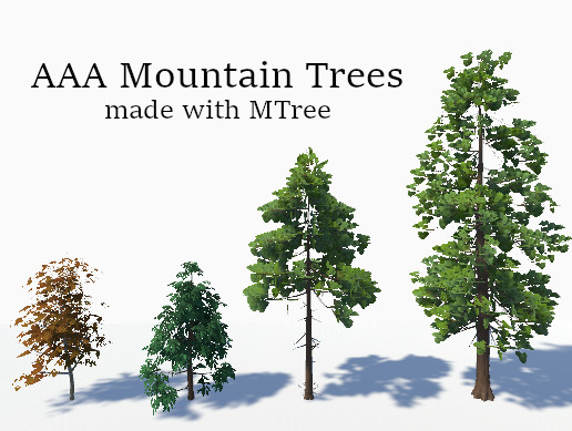 AAA Mountain Trees