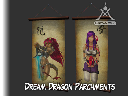 Dream Dragon Parchments