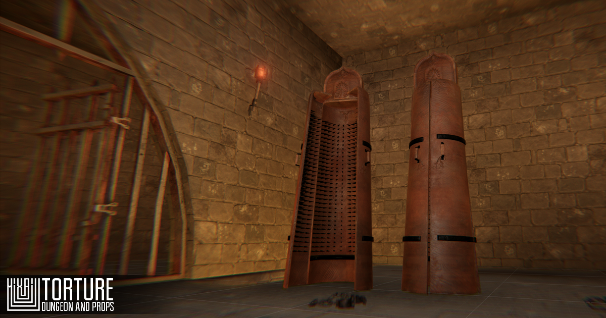 Torture - dungeon and props