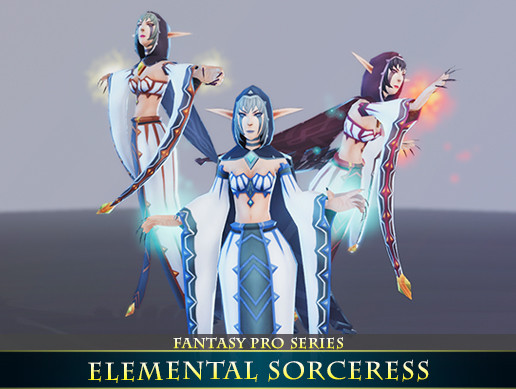 Elemental Sorceress