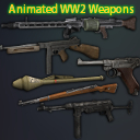 Animated WW2 Weapons #1