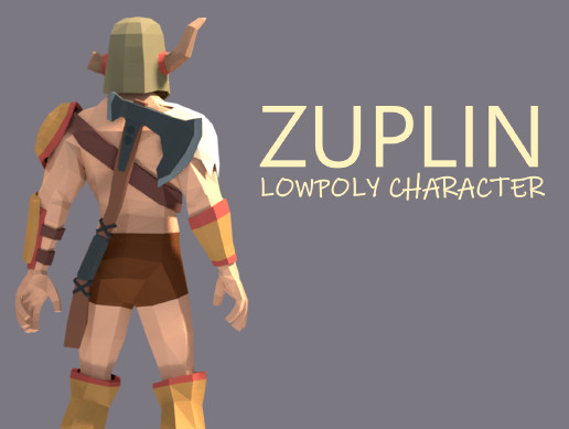 Zuplin | LOWPOLY CHARACTER