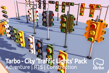 Tarbo - City 'Traffic Lights' Pack [FREE]