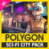 POLYGON - Sci-Fi City Pack