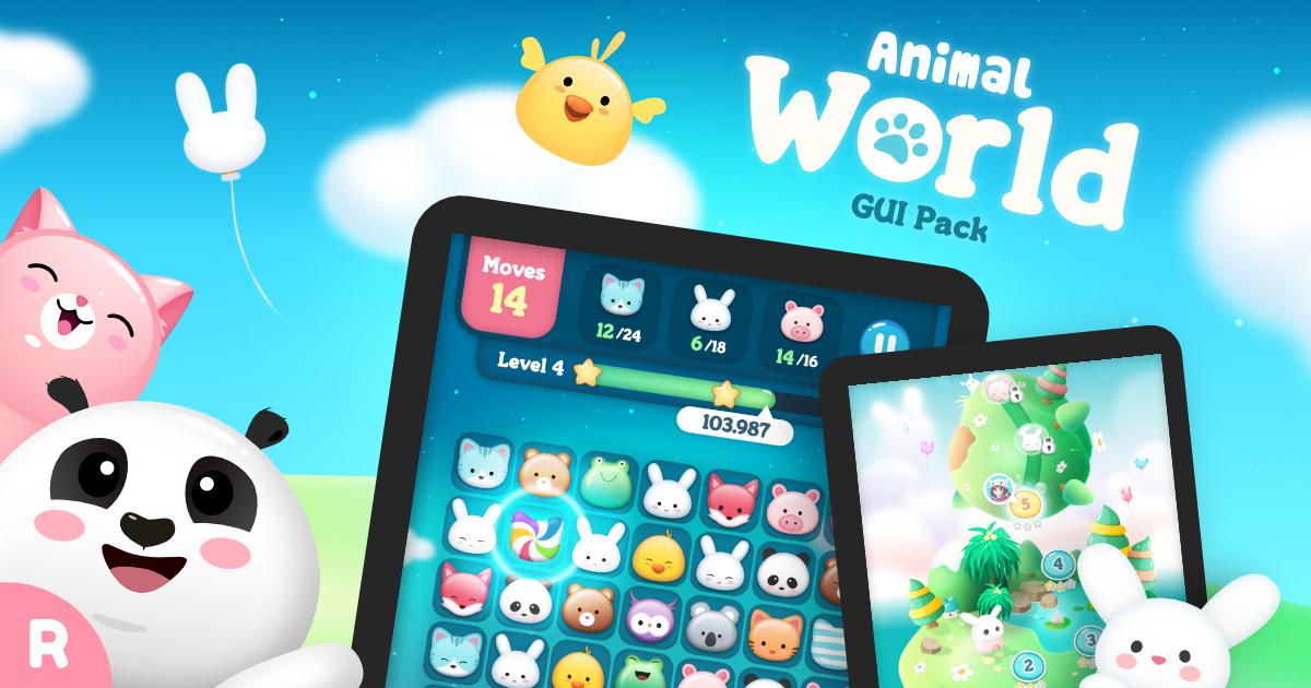 Animal World GUI Pack