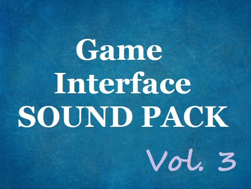 Game Interface Sound Pack Vol. 3