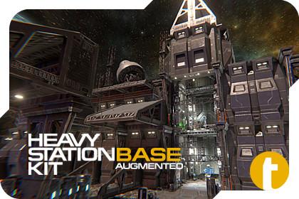 Sci-Fi Heavy Station Kit base AUGMENTED