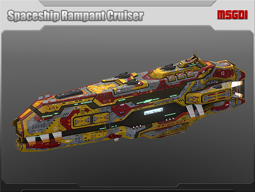 Spaceship Rampant Cruiser