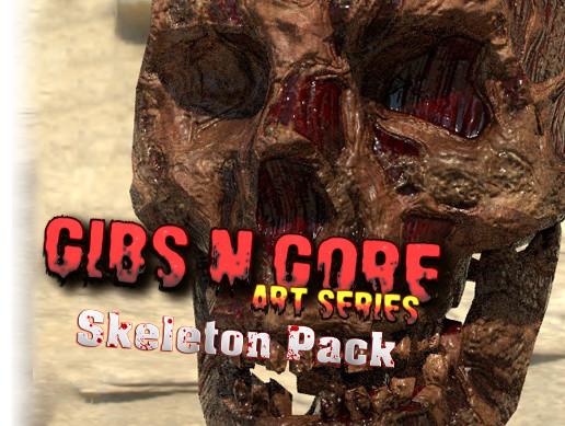 Gibs N Gore - Skeleton Pack