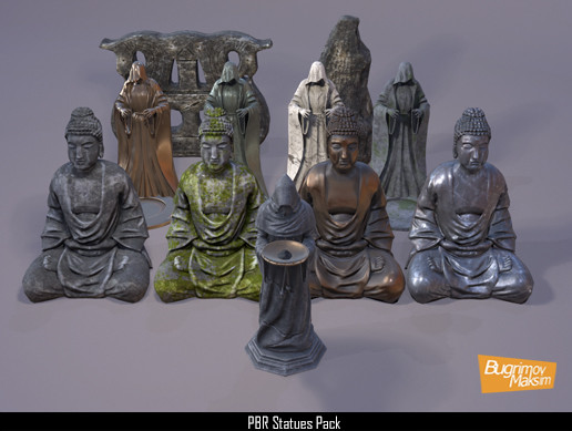 PBR Statues Pack