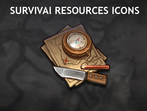 Survival Resources Icons