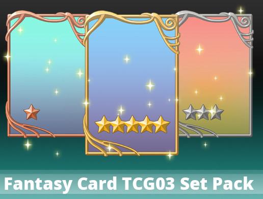 Fantasy Card TCG03 Set Pack