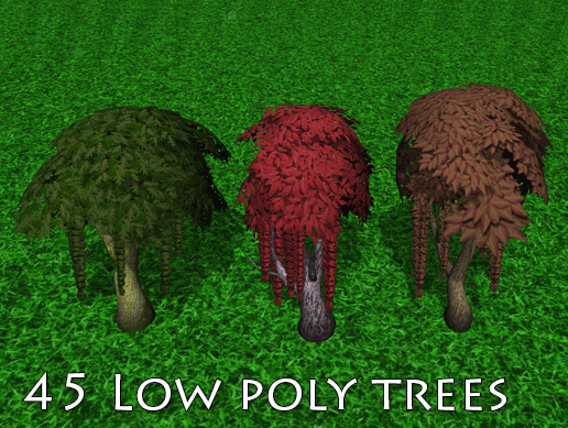 Low Poly Trees Vol.4 : Standard