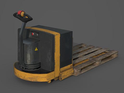 Industrial Vehicle - Pallet Truck