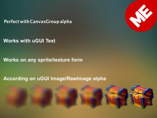 Unity 3D - Blink/Gloss (uGUI, 3D) by Motion Entertainment