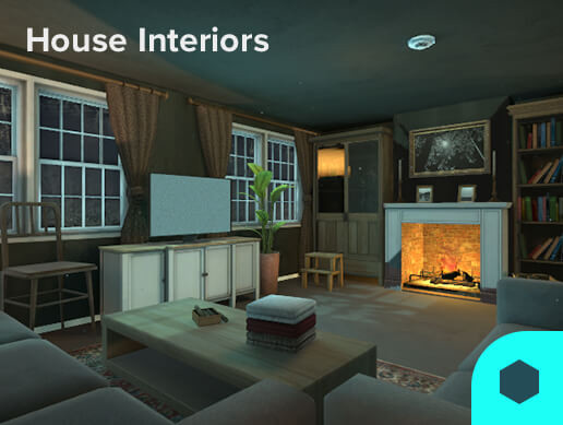 3D Models House Interiors 180 Pack