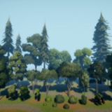 Stylized Trees and Foliage