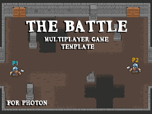 The Battle Multiplayer Game Template