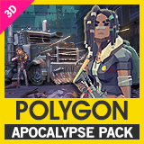 POLYGON Apocalypse - Low Poly 3D Art by Synty
