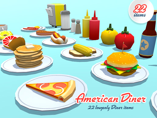 American Diner food & accessories