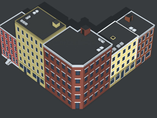 Simple Urban Buildings Pack 1