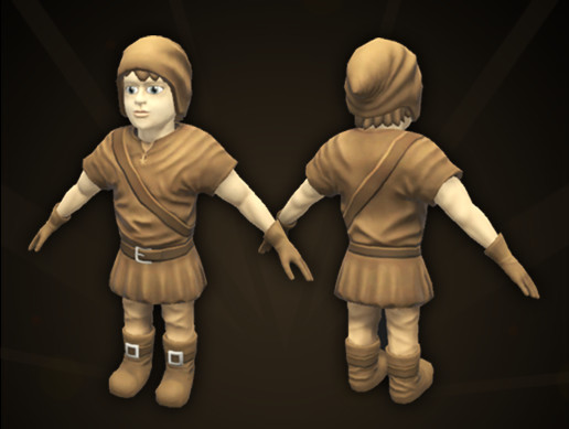 Young Adventurer Character