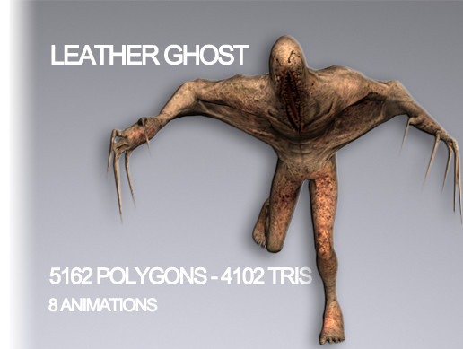 Monster Leather Ghost