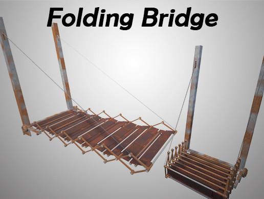 Rusty Folding Bridge