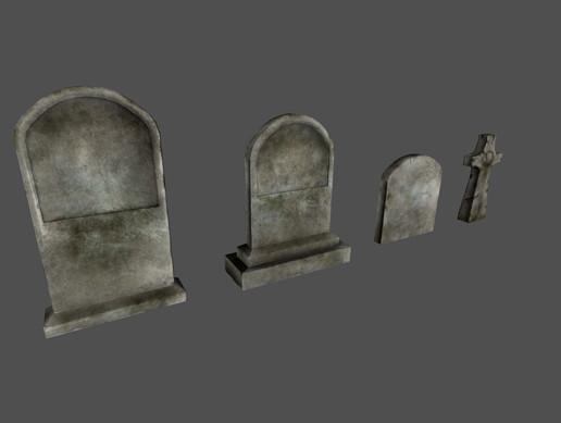 Tombstones Set