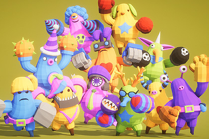 Party Monster Rumble Polyart
