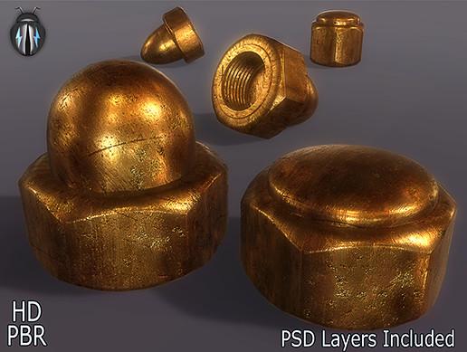 PBR Metal Bronze