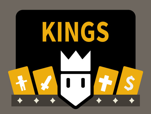 Kings - Card Swiping Decision Game Asset