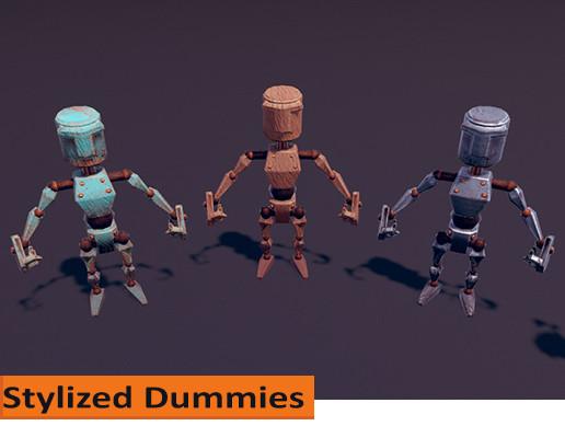 Stylized Humanoid Dummy