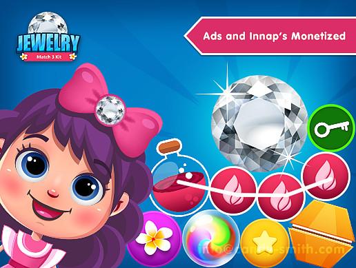 Jewelry Match 3 Kit