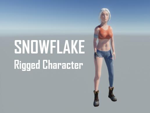 Snowflake Female Character