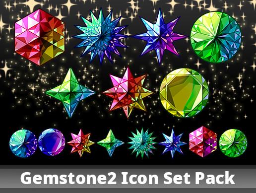 Gemstone2 Icon Set Pack