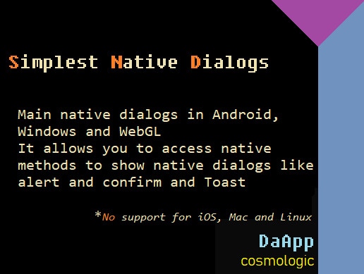 Simplest Native Dialogs