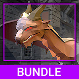 Low Poly Monster Bundle - 5 Characters