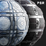 PBR Sci-Fi Panels textures