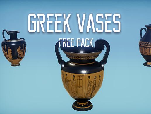 Greek Temple: Vases