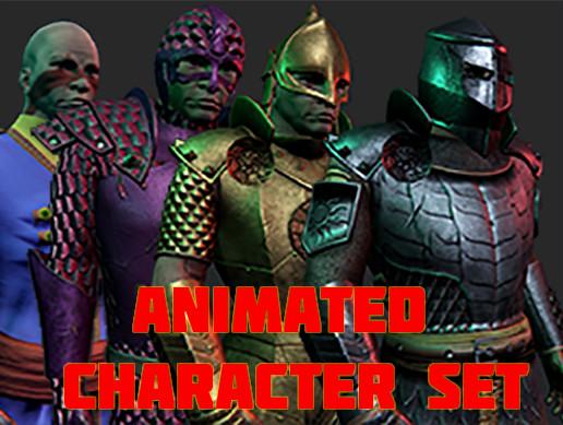 Big Medieval/Fantasy Character Set