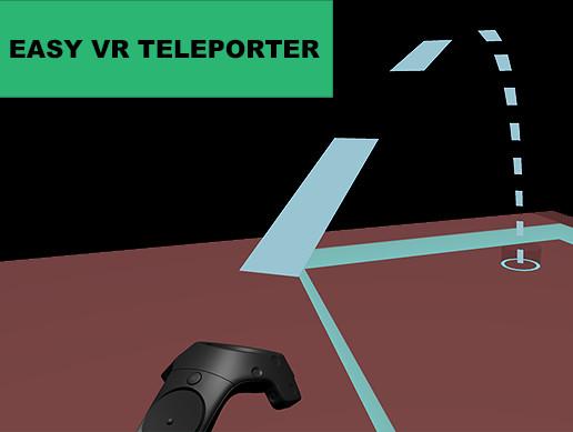 Easy VR Teleporter - Asset Store