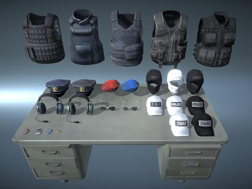 Police Pro - Gears