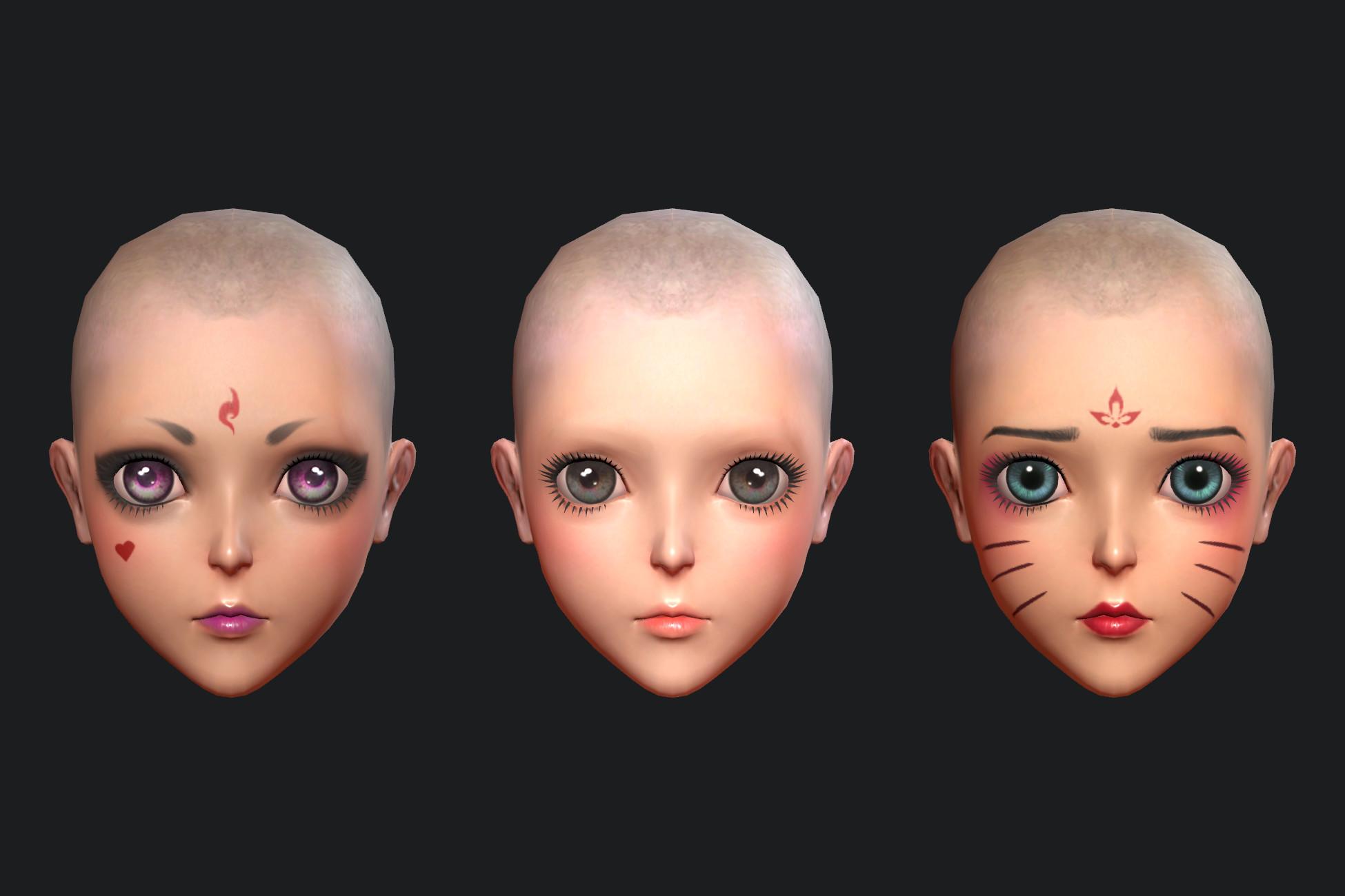 Simple Face Makeup
