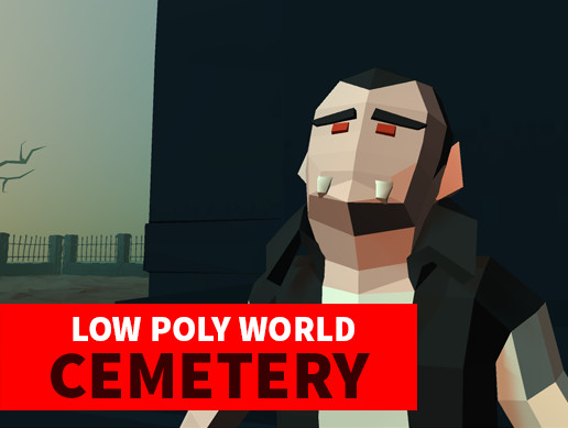 LOW POLY WORLD - CEMETERY