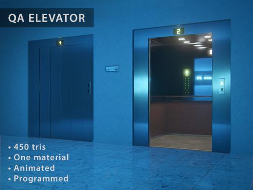 QA Elevator (Programmed)