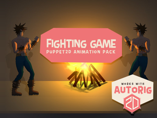 Puppet2D Fighting Animation Pack - Asset Store