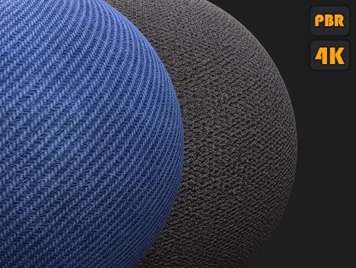 PBR Fabric materials