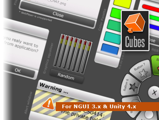 NGUI 3.x Widgets Collection vol. 2